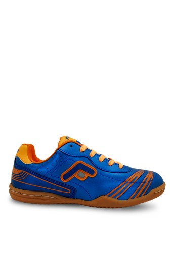 FANS blue Fans CRV O - Men's Futsal Shoes Blue Orange FA469SH11MVCID_1