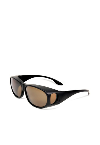 ASLLY black and multi Full covered│Black Fit over sunglasses 70EBDGL651A8EAGS_1
