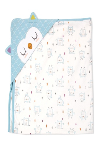 Organic mom blue Organic Baby Blue Swadding Blanket 5B919KCB920D61GS_1
