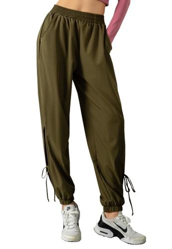 HAPPY FRIDAYS Adjustable Drawstring Sweatpants DK-YDK09 E20E6AA400E888GS_1