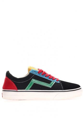 New York Sneakers multi Roge CB106 Men's Low Cut Shoes F1EB5SH2005487GS_1
