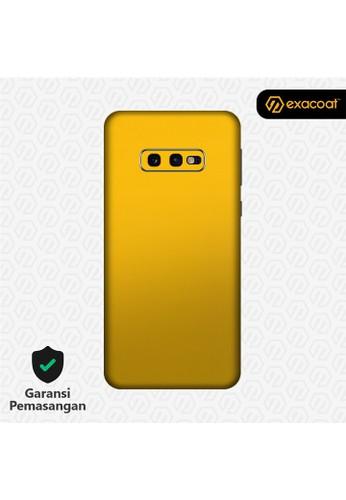 Exacoat Galaxy S10e 3M Skins True Colors - Lemon Yellow 4D0BDESE425485GS_1