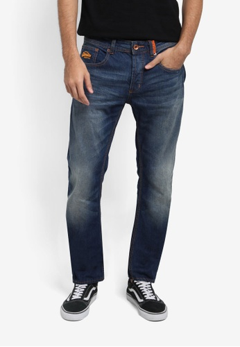 Superdry blue Copperfill Loose Jean SU137AA0T235MY_1