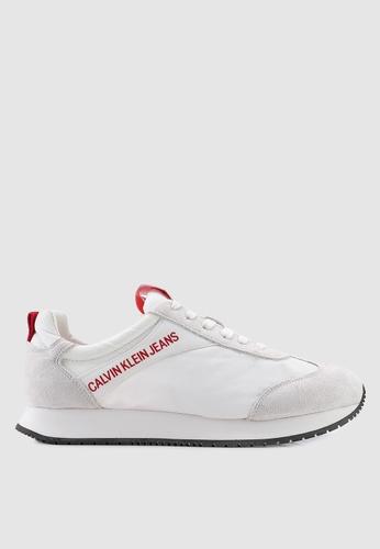 Calvin Klein white Jerrold Sneakers 8F1D6SH9CC10DEGS_1