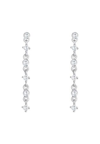 ELLI GERMANY white Elegant Zirconia Earrings 63716AC74AF931GS_1