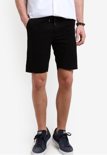 Cotton On 黑色 Tailored Casual Shorts CO372AA74RMFMY_1