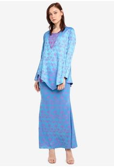 e0a5d7f8ef7 Aqeela Muslimah Wear blue Qhalisha Nursing Kurung 1E7A3AA0F42FA7GS 1