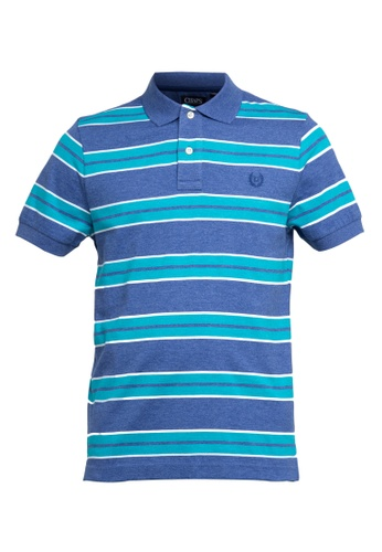 Chaps blue Chaps Striped Polo Shirt FA798AAAF148EEGS 1 9354965ba