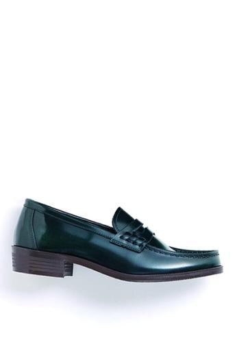 HARUTA green Color Loafer-230 0D764SHEE9B2E3GS_1