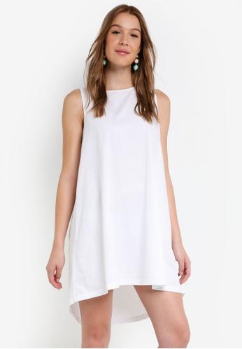 OVS white Monochrome Dress 489E5AABDE5E91GS_1