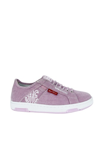 Royal Elastics purple Icon Washed Canvas Sneakers RO796SH2UYLIHK_1