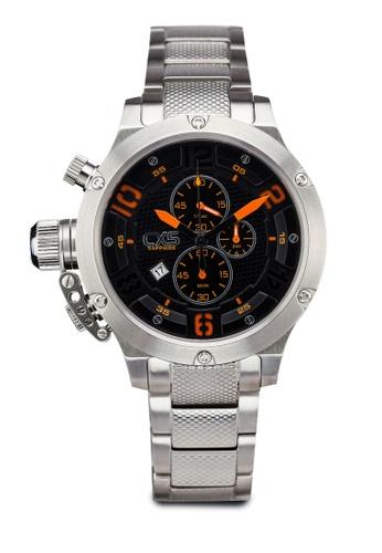 Carlo Cardini silver Carlo Cardini CX5 001G-SS-4 Gents Watch CA038AC40LELMY_1