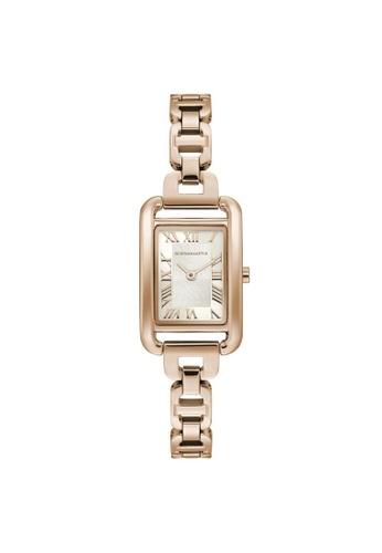 BCBG gold BCBGMAXAZRIA BG50909002 Rose Gold Stainless Steel Watch D0AE7AC7FA7417GS_1