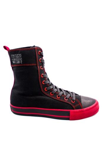 Pallas black Pallas Jazz Star Super Hi Cut Shoe Lace JS07-0140 Black C2B7CSH45CEF47GS_1