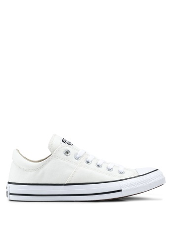 facd6425eae9 Converse white Chuck Taylor All Star Madison Ultility Chambray Ox Sneakers  C9A8ESHC08A7BAGS 1