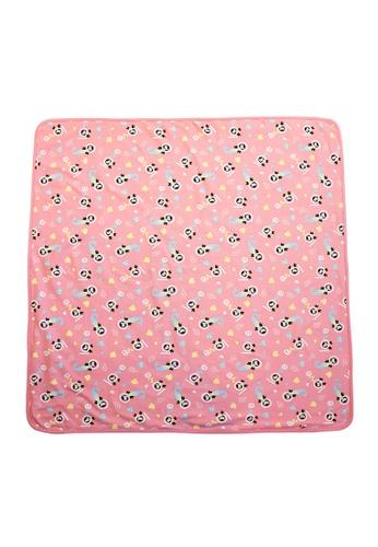 Vauva pink Vauva Baby Organic Mermaid Blanket 5A3B1KC7E9727EGS_1