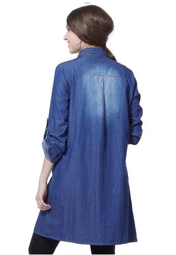 ea8a9e2a984 Buy Mamaway Maternity & Nursing Denim Shirt Dress Online | ZALORA Malaysia