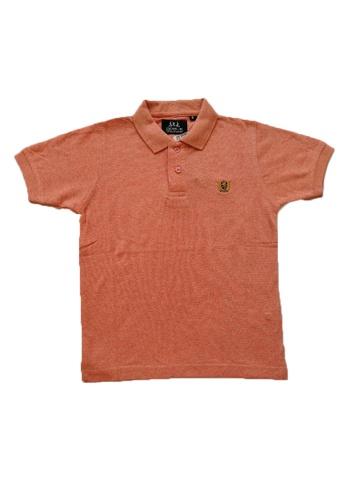 KAMDAR pink Boys collar T/shirt 2B2F0KA8C7CDE4GS_1