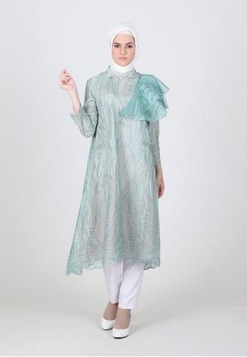 BellyBee green Elsa Bloom Tunik 8B5A1AA57B9C82GS_1