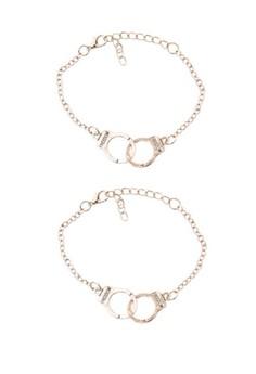 Handcuff Bracelet Set