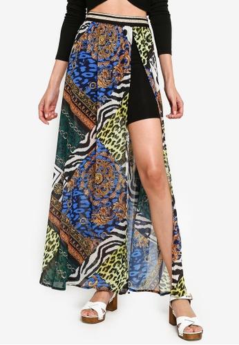 34a02656a Elastic Waist Skirt