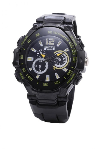 Greatvalueplus black Berthe Plastic Analog Mens Watch NYA1364 A0DCDAC5E016B8GS_1