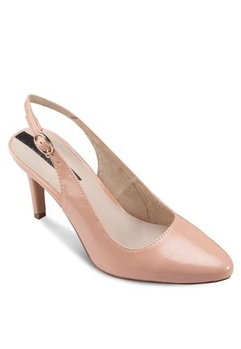 露跟踝帶尖頭高跟esprit hk分店鞋, 女鞋, 鞋