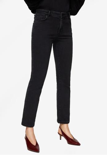 Mango grey Straight Cropped Jandri Jeans 59F79AA3CE0908GS_1