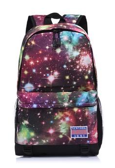 Newyork Army Purple Galaxy Backpack
