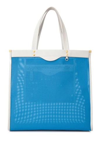 ANYA HINDMARCH blue Pre-Owned Anya Hindmarch Mesh Tote D04BCAC011FE5DGS_1