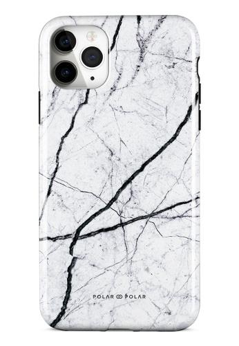 Polar Polar white Classic White Dual-layer Tough Case Glossy for iPhone 11 Pro Max 503C1AC66CE131GS_1