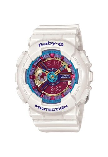 Casio white CASIO BABY-G BA-112-7ADR WOMEN'S WATCH 0D653ACD812E16GS_1