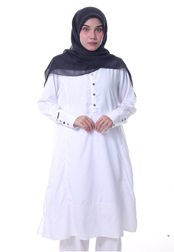 Denai Boutique Tunic Jasmine Top 8A3BDAA16350D6GS_1