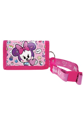 Disney Minnie pink Disney Minnie Mouse Too Cute Lanyard Wallet 4099EKCCDAACD0GS_1
