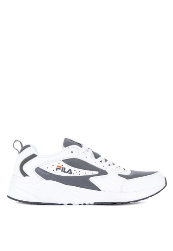 Fila white Confidence Running Shoes 003DBSH2EB7BD7GS_1