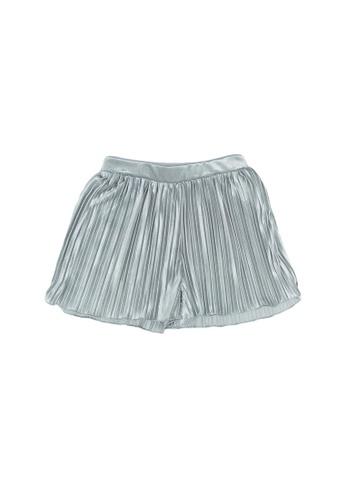 FOX Kids & Baby silver Pleated Shorts 4DF63KAD903207GS_1