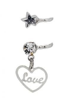 Love ear cuff (silver)
