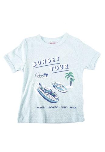 Cath Kidston green Speedy Boats T-Shirt 124ECKAA93DD8EGS_1