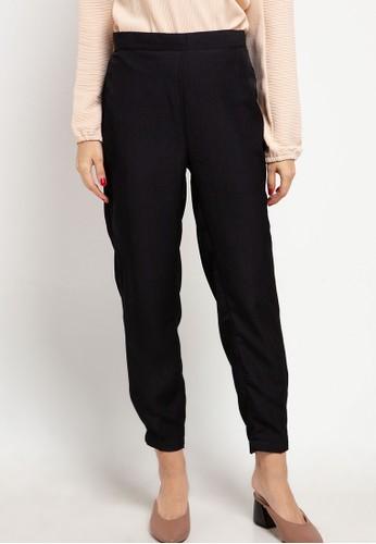 AZZAR black Mirit Pants A946AAA410B86AGS_1