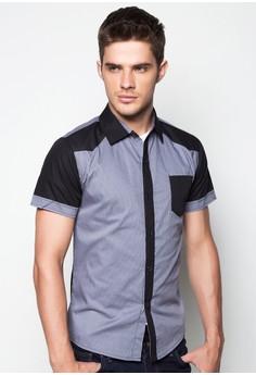 Noah Short Sleeve Button Down Shirt