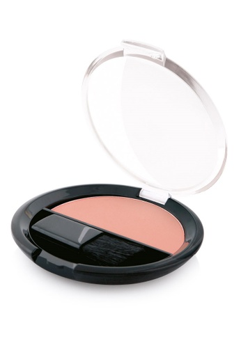 GOLDEN ROSE brown and beige Silky Touch Blush-on - #203 GO743BE80DWLMY_1