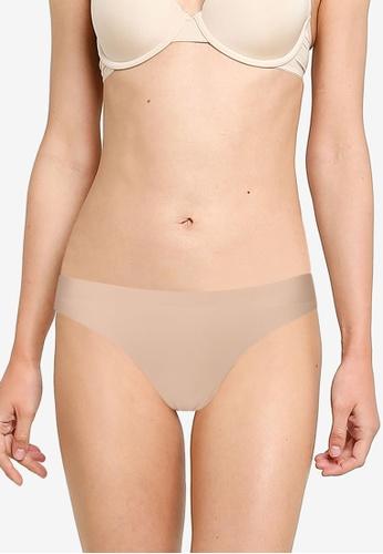 GAP beige No Show Bikini A7DAAUS08655E4GS_1