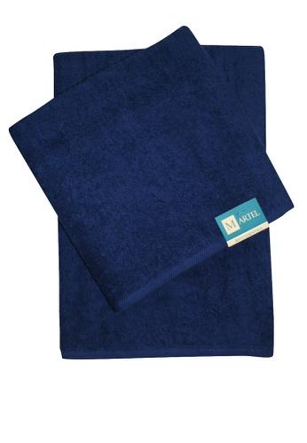 Martel blue Martel Basic Bath Towel 80739HLD121EABGS_1