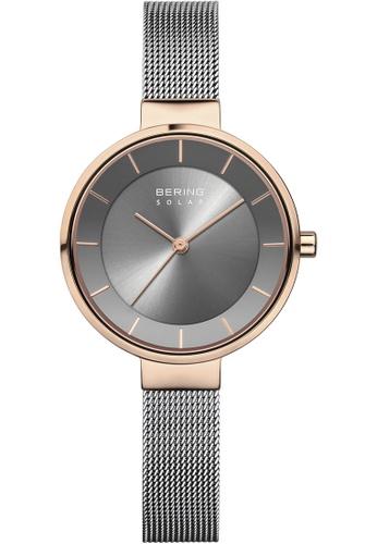 Bering gold Bering Solar Grey 31 mm Women's Watch (14631-369) 2FB99ACE85F4BEGS_1
