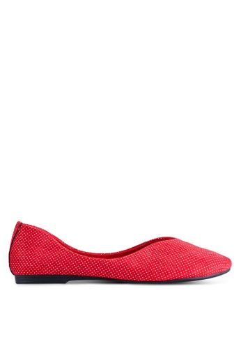 BETSY 紅色 Alexa 平底鞋 8C550SH9D6465AGS_1