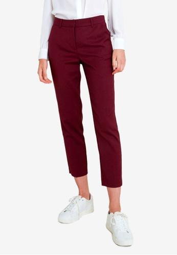 FORCAST red Averi Suit Pants 9B1ABAABD7453AGS_1
