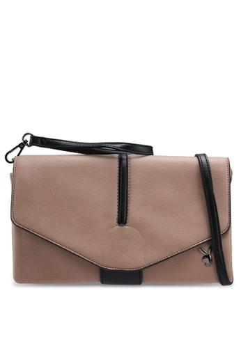 Playboy brown Playboy Clutch/Sling Bag A51C8AC11AC471GS_1