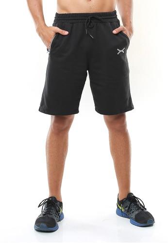 Flexzone black FLEXZONE Sports Short Pants Xeno Series Black 36DEAAA5CCDF9DGS_1