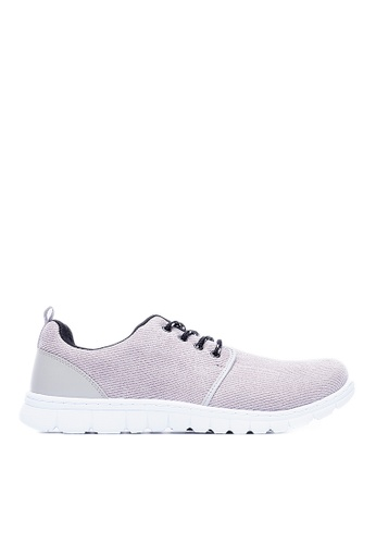 Life8 grey MIT Super-Elastic Yuppie Space Sports Shoes LI286SH0RYY4MY_1