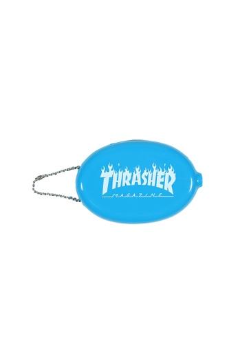 THRASHER Thrasher Flame Coin Pouch 3705EAC0EC621CGS_1